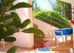Gallipoli: Villa 100m de mer en résidence Salentoholidays